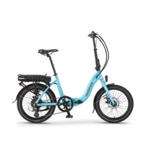 806se Folding Electric bike - blue