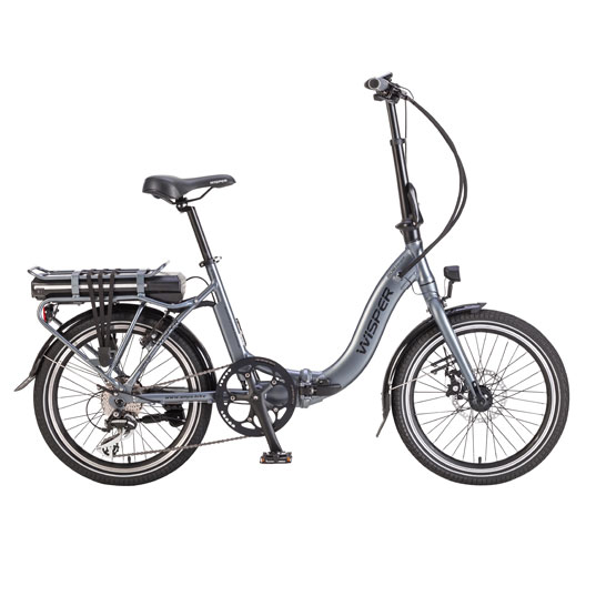 Wisper 806 folding electric bike - e-bike