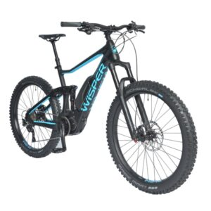 full-suspension electric mountain bike
