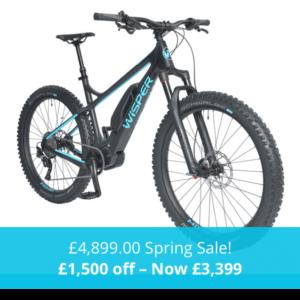 Wisper Wolf electric bikes sale - e-bikes