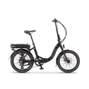 806 folding electric bike - black
