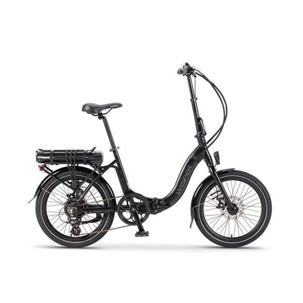 806 folding electric bike - black
