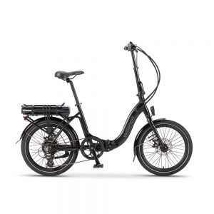 Black Wisper 806 Folding Electric Bike