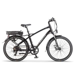 Black Wisper 905 Crossbar Electric Bicycle