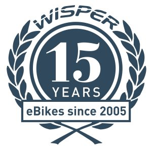 15 Years eBikes since 2005 Logo