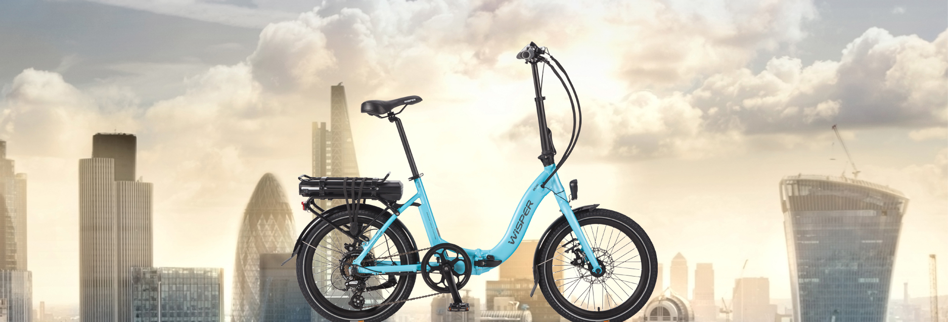 806 folding electric bike Banner