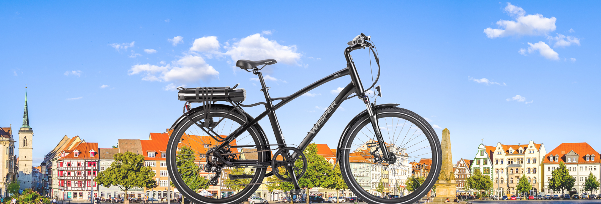905 Banner Touring ebike