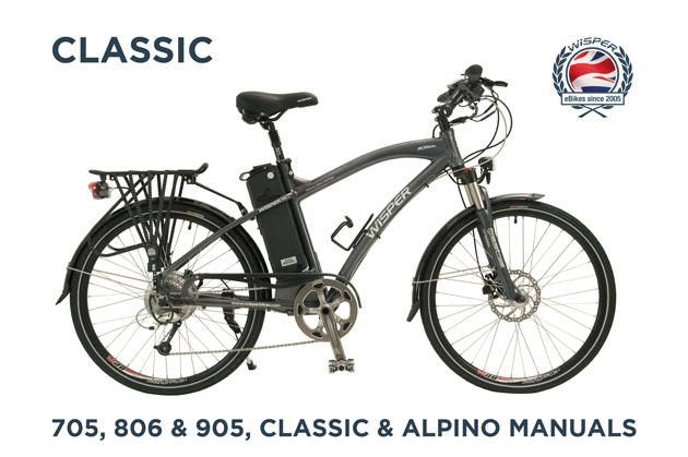 Classic 705,806,905,Classic & Alpino Manuals