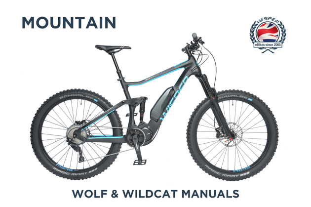 Mountain Ebike : Wolf and Wildcat Manuals
