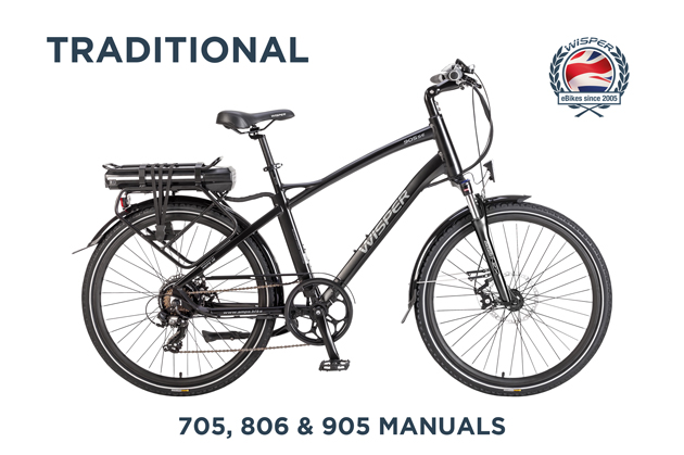 Traditional Ebike : 705,806,905 Manuals